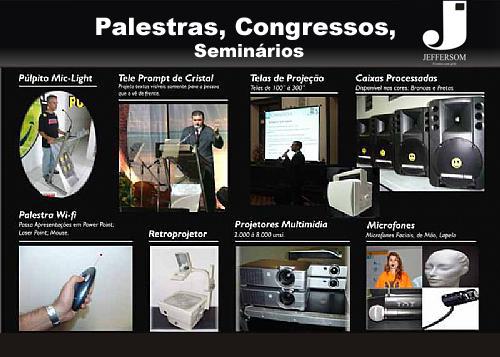 Palestras, Congressos e Seminários